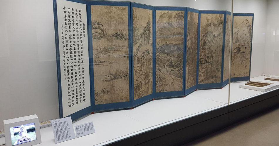 대전시립박물관에는 안동권씨 유회당과 관련된 자료가 전시되어 있다