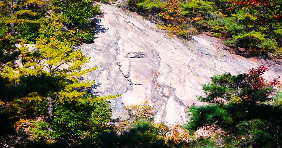아차산 큰 바위 얼굴
